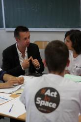#ActInSpace à Toulouse, le 23 mai 2014. Crédits : CNES/G. Boyer.