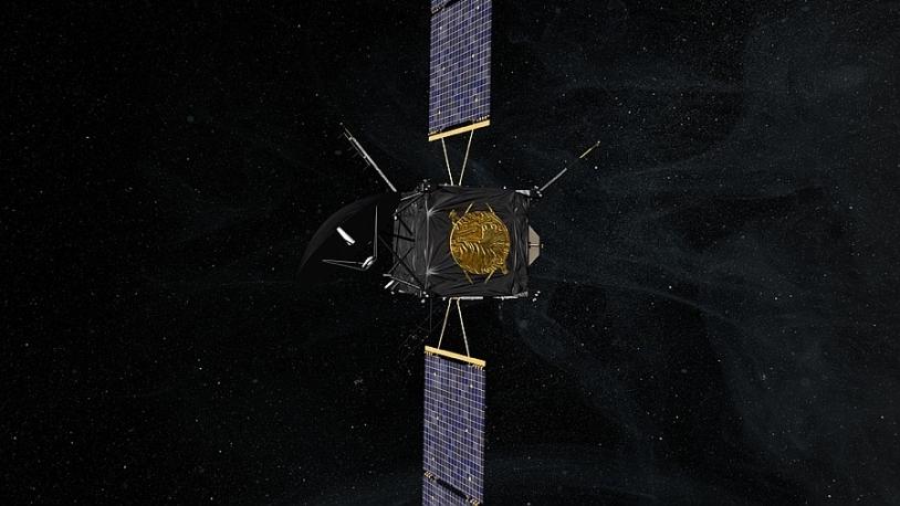 Rosetta a été mise en hibernation en 2011. Crédits : CNES/EKIS France, 2013.